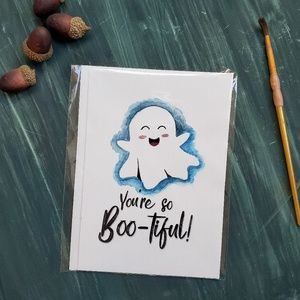 Other - Boo Card